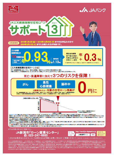 H31.1三大疾病サポート3(10年固定)