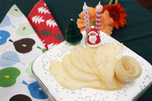 ル レクチェのクリスマススコップケーキ