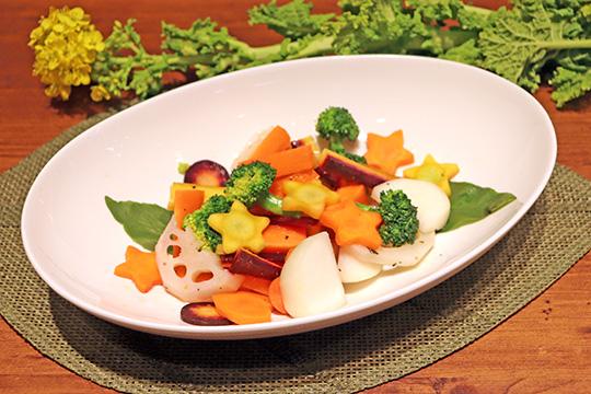 春のカクテル温野菜サラダ
