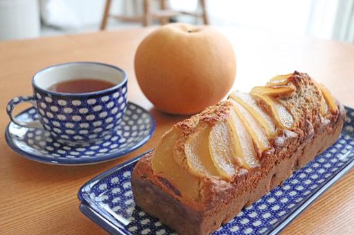 梨のパウンドケーキ